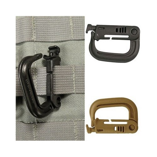 MOUSQUETON ATTACHES MOLLE 4 CM