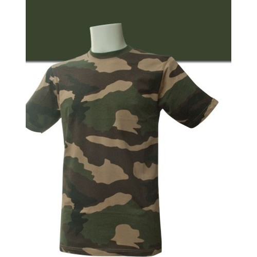 T-SHIRT MILITAIRE CAMOUFLAGE